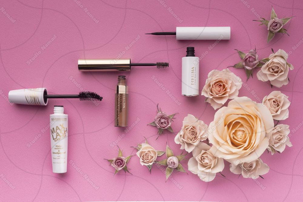 عکاسی تبلیغاتی از محصولات آرایشی